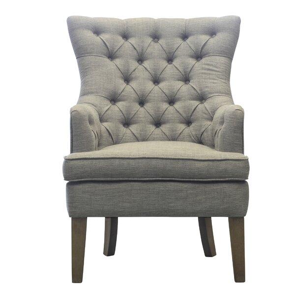 Kalmanovitz Wingback Chair by Ophelia & Co.
