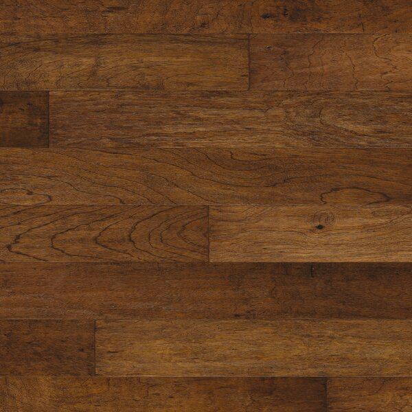 Mayan Pecan 5 Engineered Copaiba Hardwood Flooring in Cumin by Mannington
