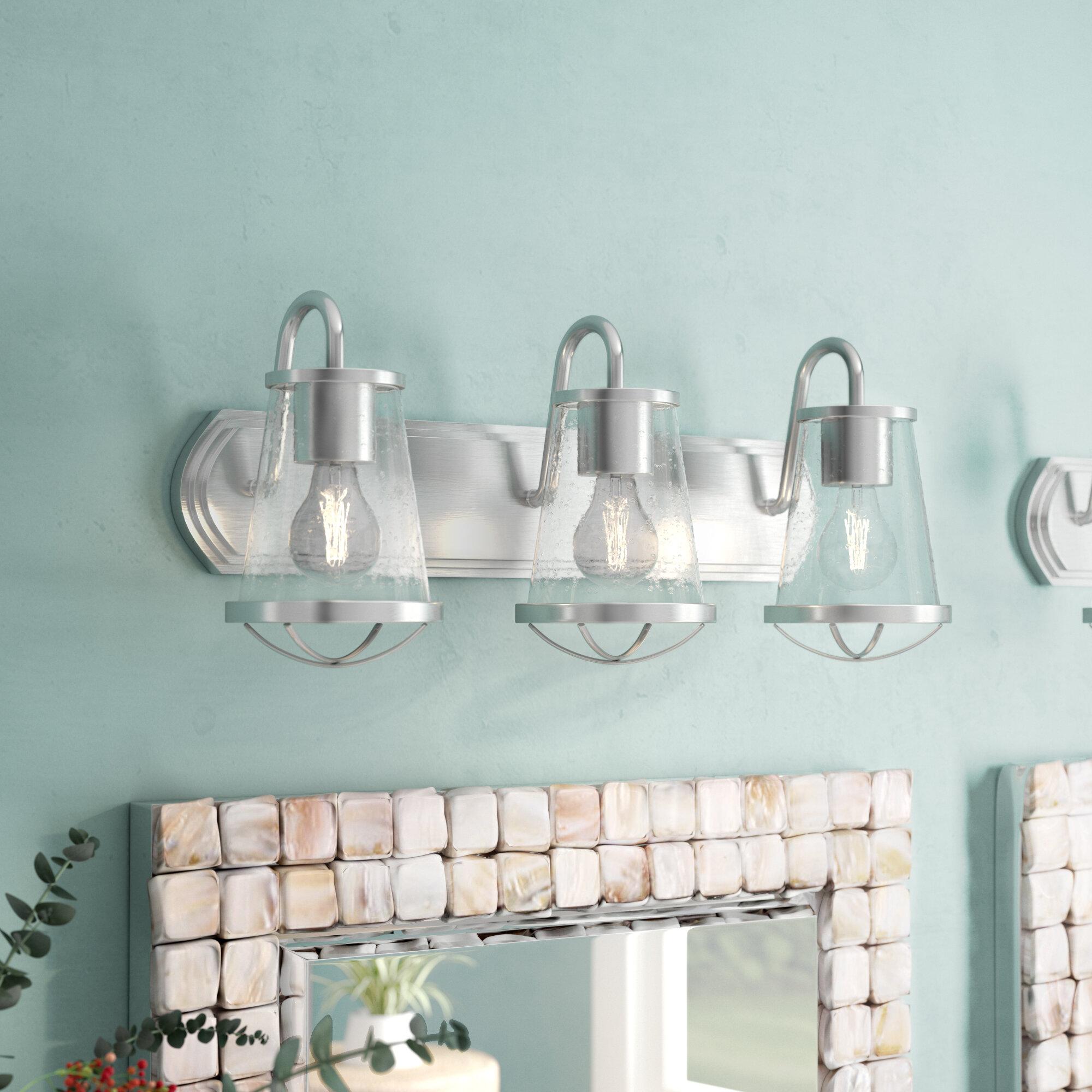 Coastal Bathroom Vanity Lighting You\'ll Love | Wayfair