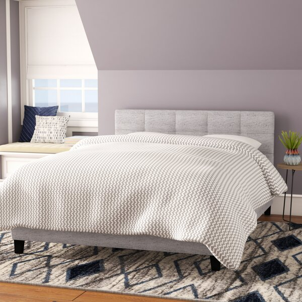 Burdge Upholstered Platform Bed by Brayden Studio