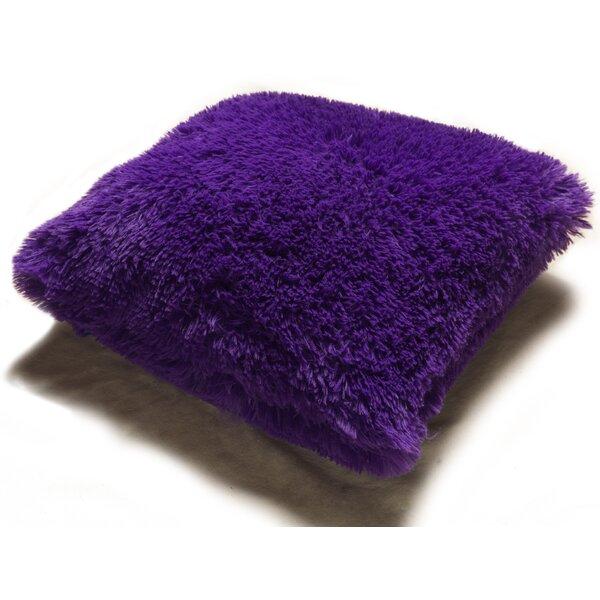 Lakisha Fur Throw Pillow by Zipcode Design
