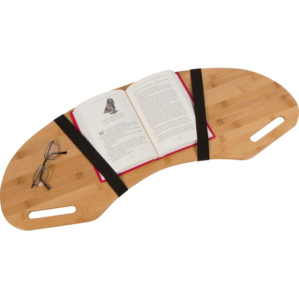 Hebb Wood Curved Laptop Tray by Symple Stuff