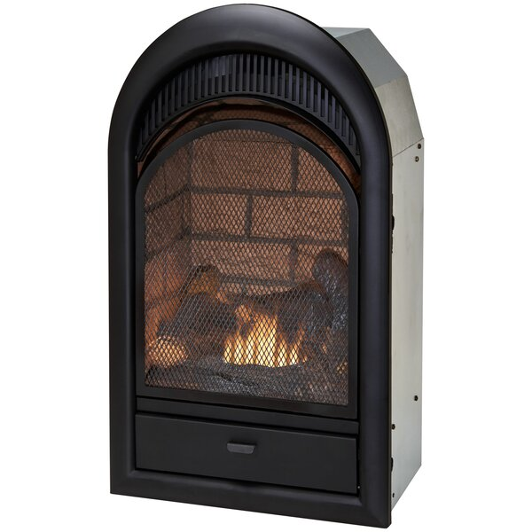 Vent Free Natural Gas/Propane Arched Fireplace Insert By Duluth Forge