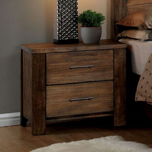 Ariah 2 Drawer Nightstand by Foundry Select