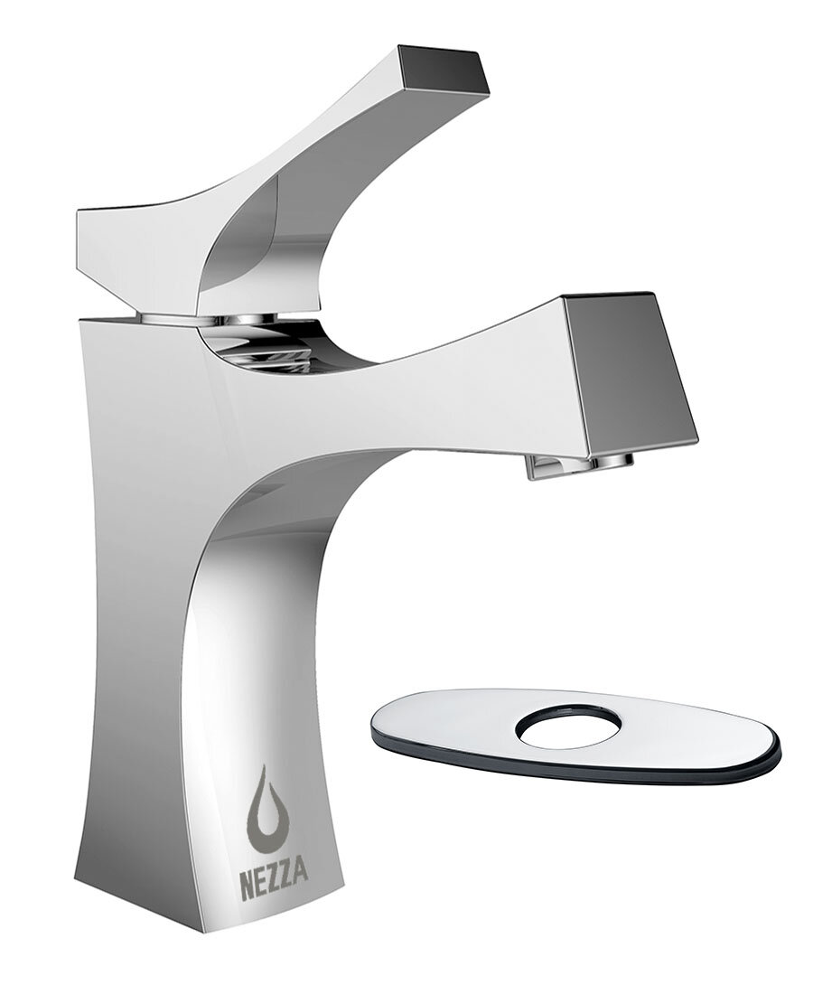 Nezza Talon Bathroom Faucet with Deck Plate & Reviews | Wayfair