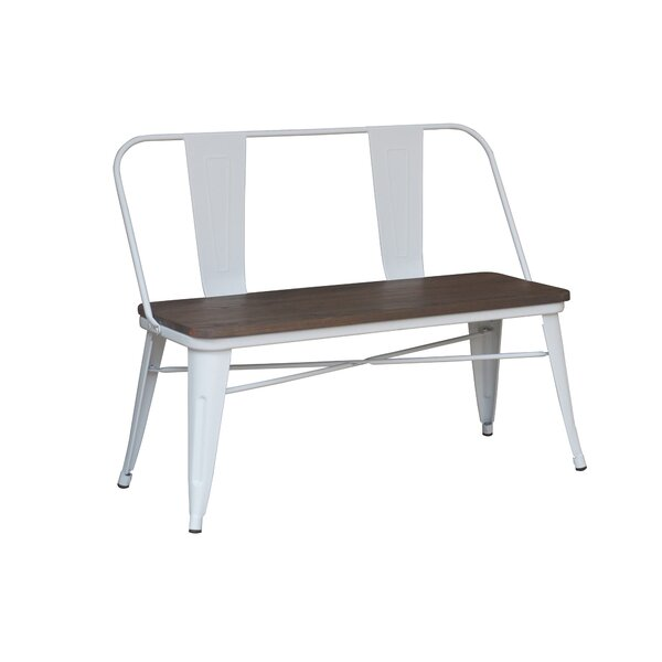 Mccreery Metal Bench by Trent Austin Design Trent Austin Design