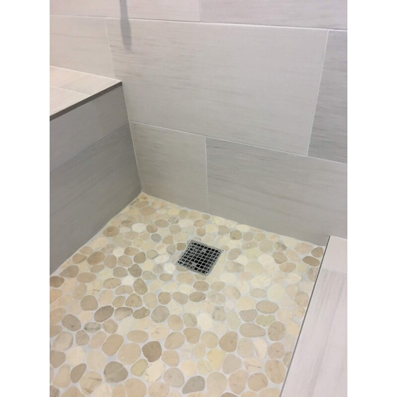 Natural Stone Mosaic Tile In Tan Beige