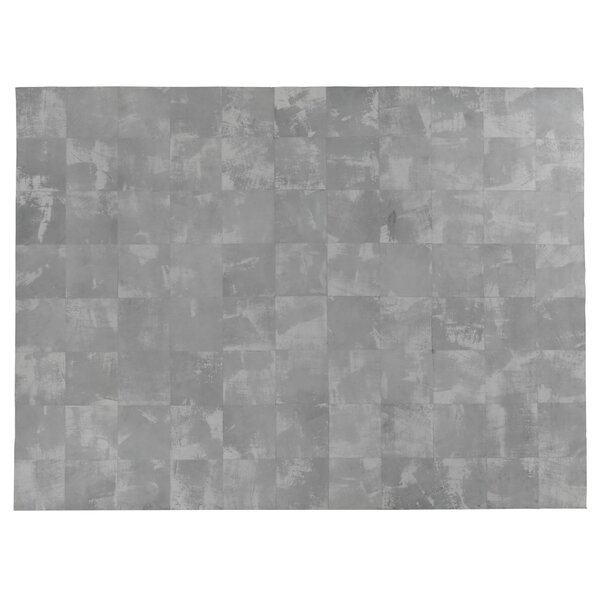One-of-a-Kind Capri Leather Hand Woven Gray Area Rug by Exquisite Rugs