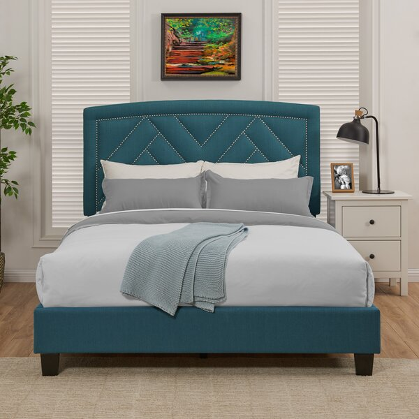 Juri Queen Upholstered Standard Bed by Mercer41