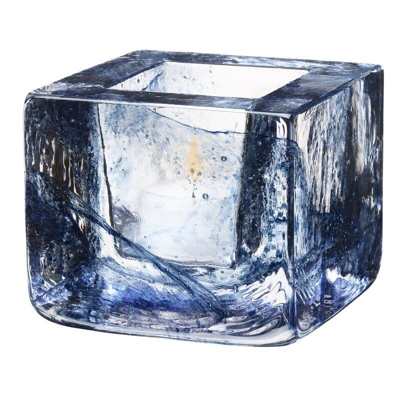 Kosta Boda Brick Glass Votive Amp Reviews Wayfair