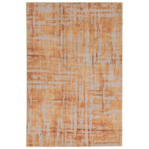 Richter Gold Indoor/Outdoor Area Rug by World Menagerie