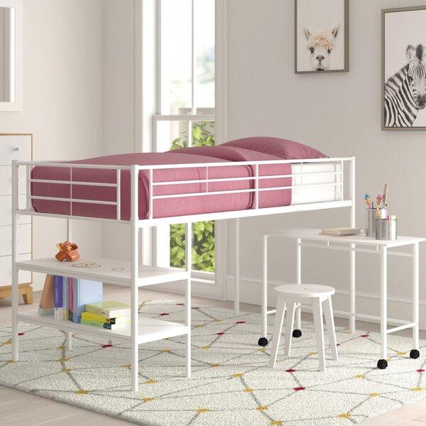 Aglandjia Twin Low Loft Bed by Mack & Milo