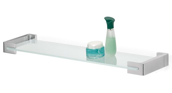Craney Glass Wall Shelf by Orren Ellis