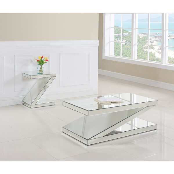 Tuan 2 Piece Coffee Table Set by Everly Quinn Everly Quinn