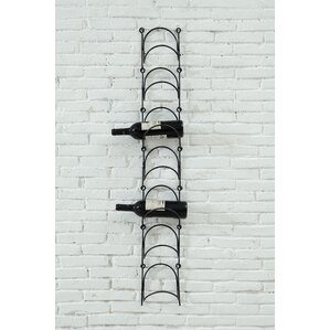 Sonoma 7 Bottle Wall Mounted Wine Rack by Creative Co-Op