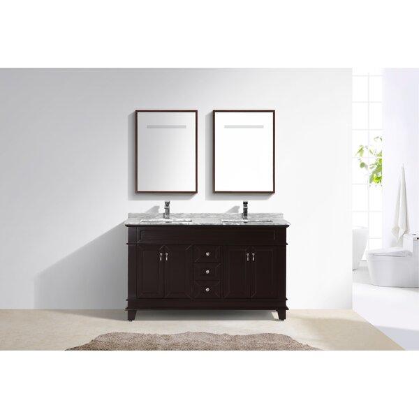 Nederland 60 Double Bathroom Vanity Set
