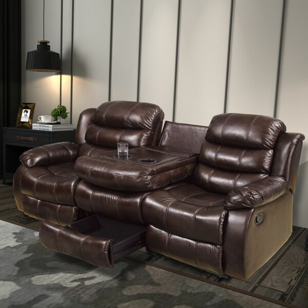 Mailloux Transitional Reclining Sofa by Red Barrel Studio Red Barrel Studio