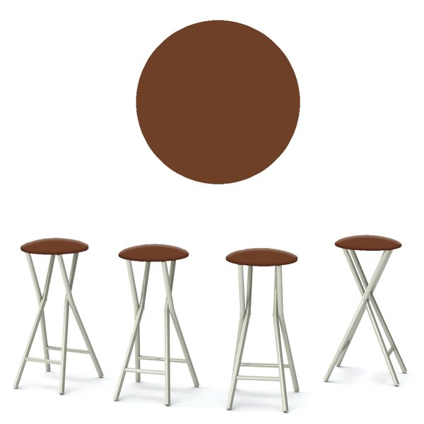 Coffee 30'' Patio Bar Stool (Set of 4) by Best of Times