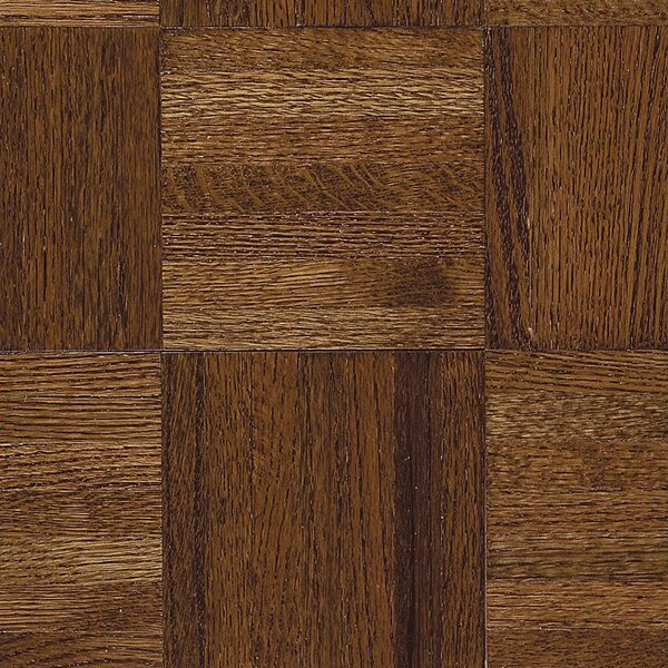 Urethane Parquet 12 Solid Oak Parquet Hardwood Flooring in Glossy Windsor by Armstrong Flooring