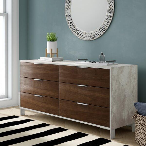 Lipscomb 6 Drawer Double Dresser by Brayden Studio