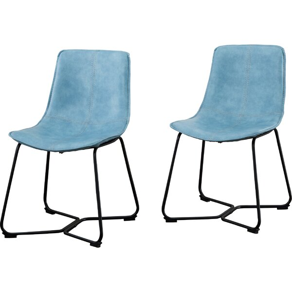 Dewald Upholstered Dining Chair (Set of 2) by Hashtag Home Hashtag Home