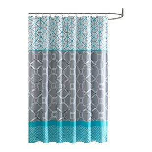 Modern Blue Shower Curtains   AllModern