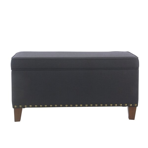Farrier Upholstered Storage Bench by Charlton Home