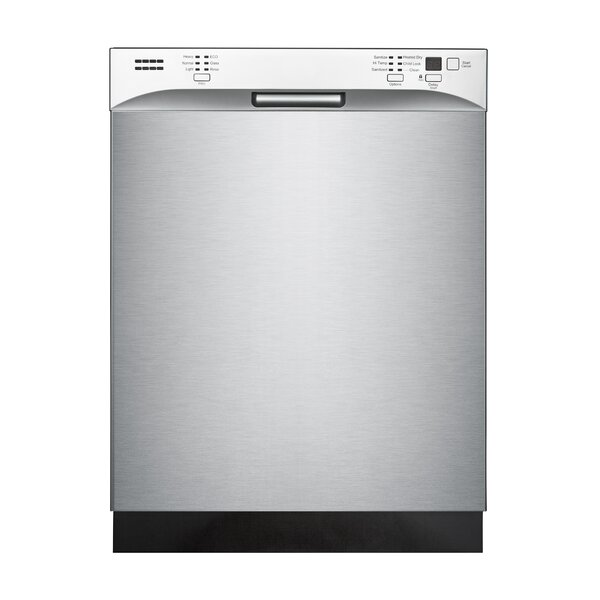 Midea 24 52dBA Built-In Dishwasher by Equator