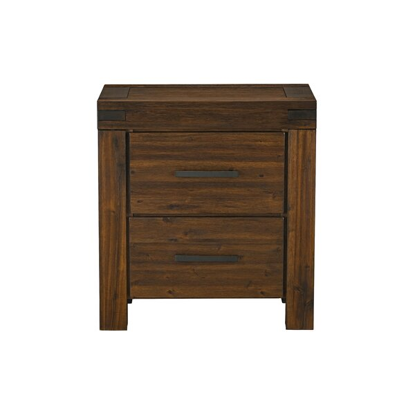 Lynde 2 Drawer Bachelors Chest by Millwood Pines