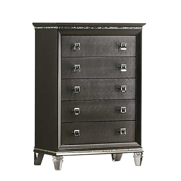 Norwich 5 Drawer Chest by Rosdorf Park
