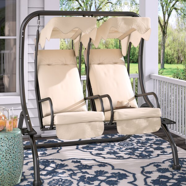 Northbrook Porch Swing  With Stand By Charlton Home