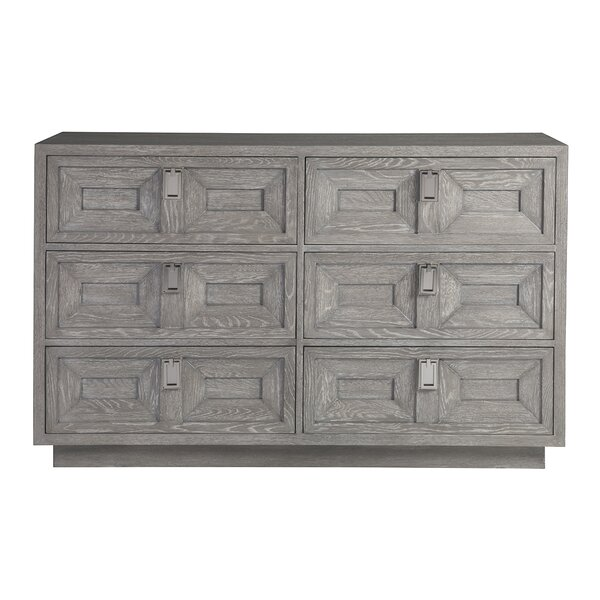 Signature Designs 6 Drawer Double Dresser by Artistica Home