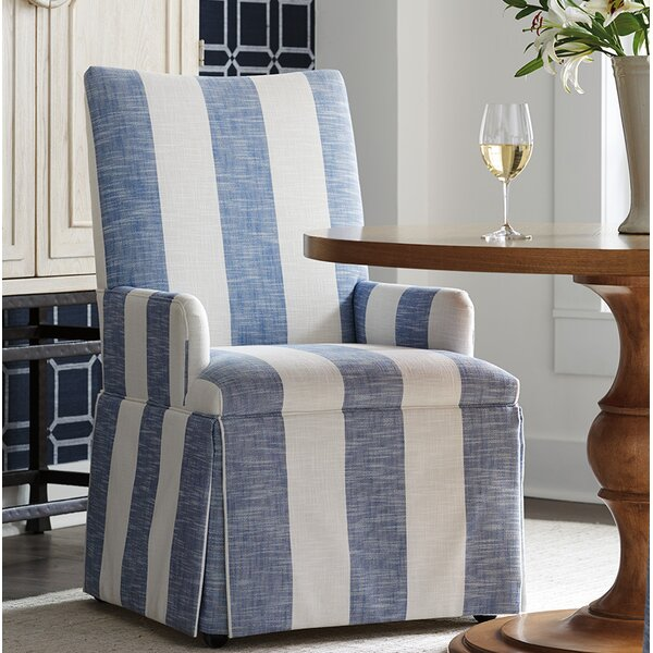 Mackenzie Upholstered Dining Chair by Barclay Butera