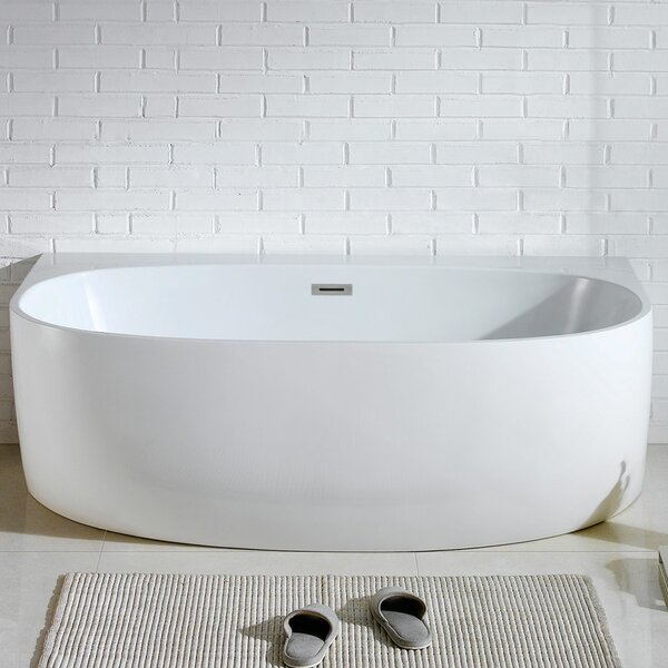 Monte 58 x 33 Soaking Bathtub by Pacific Collection