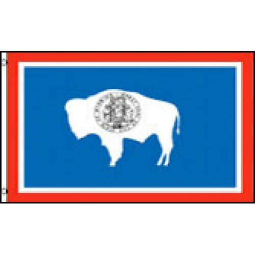 Wyoming State Traditional Flag by NeoPlex