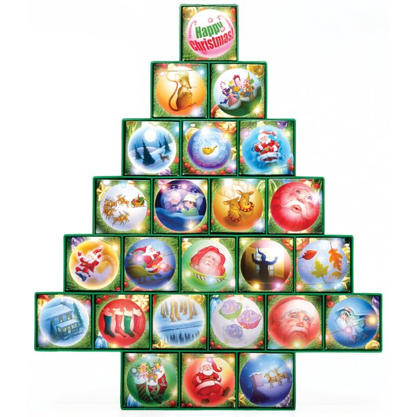 Christmas Tree Treasure Box Advent Calendar by The Holiday Aisle