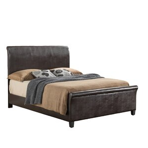 newbury upholstered sleigh bed - Upholstered Sleigh Bed