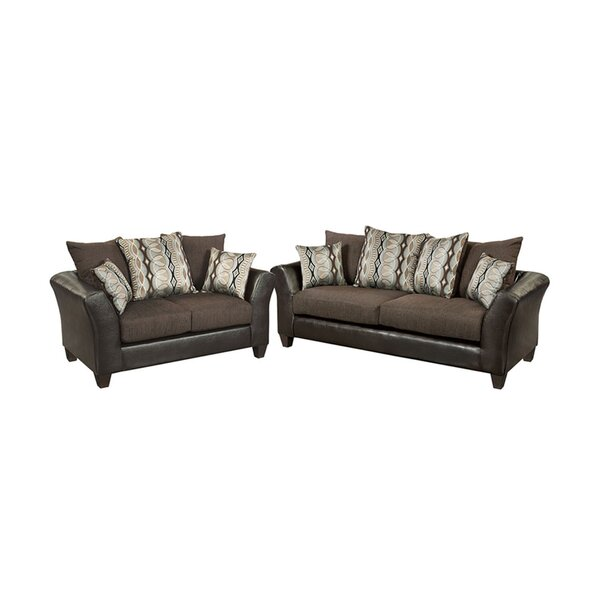 Paleczny Chenille 2 Piece Living Room Set by Ebern Designs