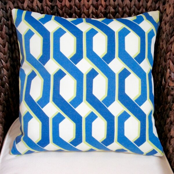 Geometric Modern Indoor/Outdoor Pillow Cover (Set of 2) by Artisan Pillows