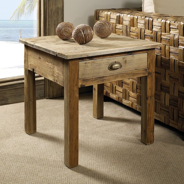 Salvaged End Table by Padmas Plantation