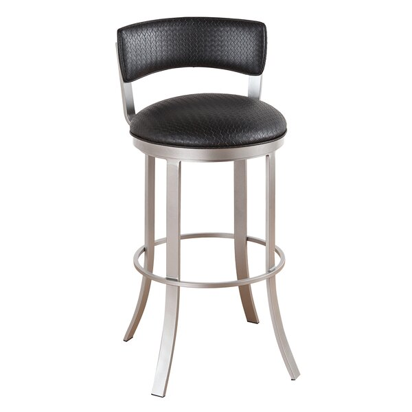 Albion 34 Swivel Bar Stool by Ivy Bronx