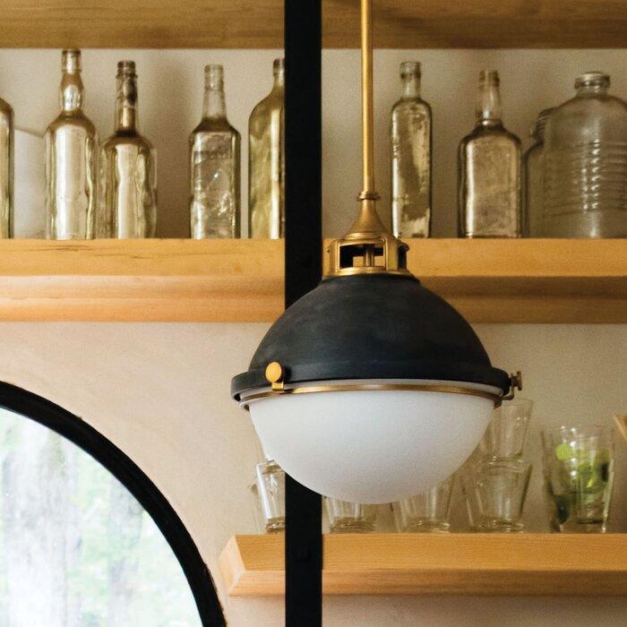 Wonderful Fletcher 2 Light Globe Pendant