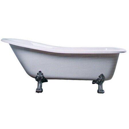 Aqua Eden 67 x 28 Freestanding Soaking Bathtub by Kingston Brass