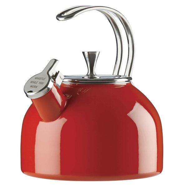 All in Good Taste 2.5-qt. Stainless Steel Tea Kettle by kate spade new york
