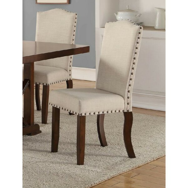Ruffner Upholstered Dining Chair (Set of 2) by Charlton Home