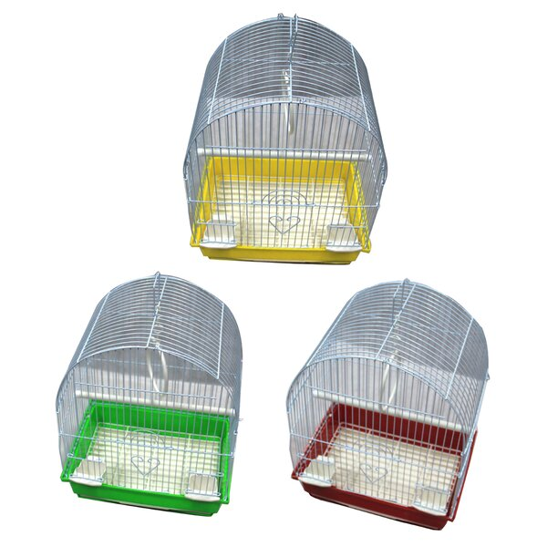 Small Dome Top Bird Cage (Set of 6) by Iconic Pet