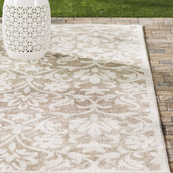 Barron Beige Indoor/Outdoor Area Rug by Three Posts