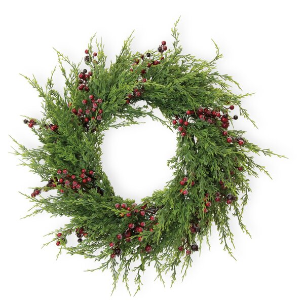 Berries and Balsam 28 Wreath by The Holiday Aisle