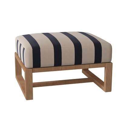 Summer Classics Ashland Outdoor Teak Ottoman With Cushion Summer Classics Cushion Color Cast Ash From Wayfair North America Daily Mail