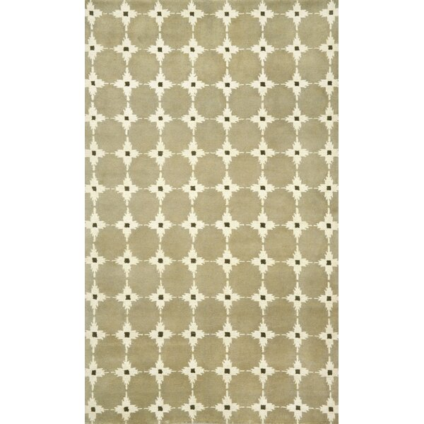 Palermo Brown Squares Neutral Area Rug by Liora Manne